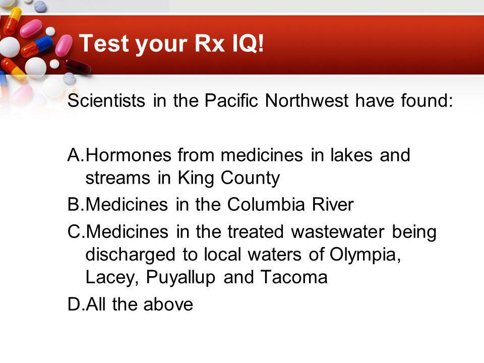 Test your Rx IQ.