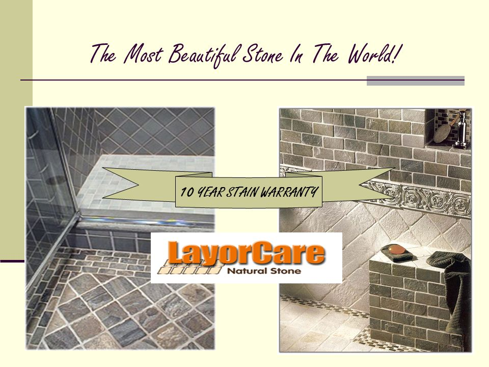 The Most Beautiful Stone In The World! 10 YEAR STAIN WARRANTY