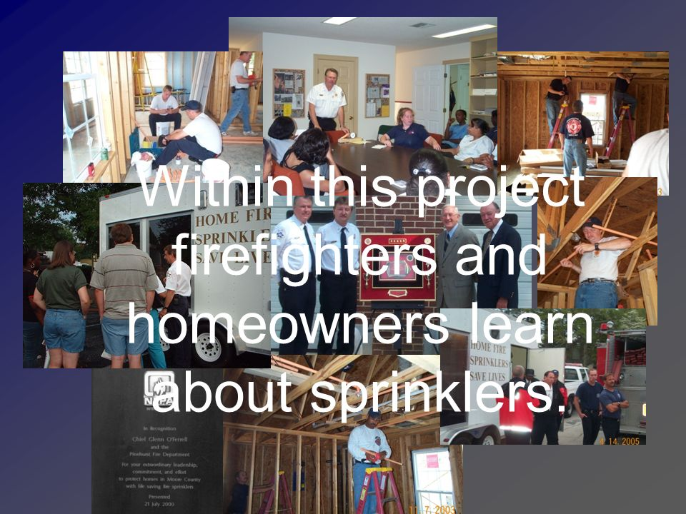Homes with 13D Sprinklers Chief Dan Jones – Chapel Hill FD