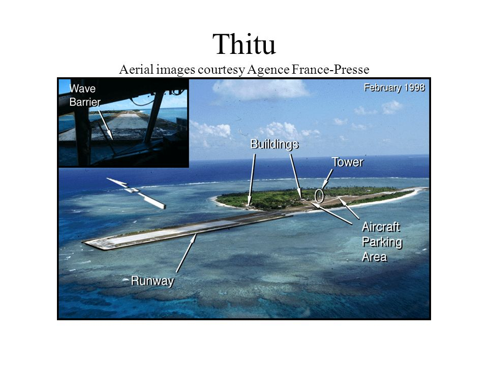 Thitu Aerial images courtesy Agence France-Presse