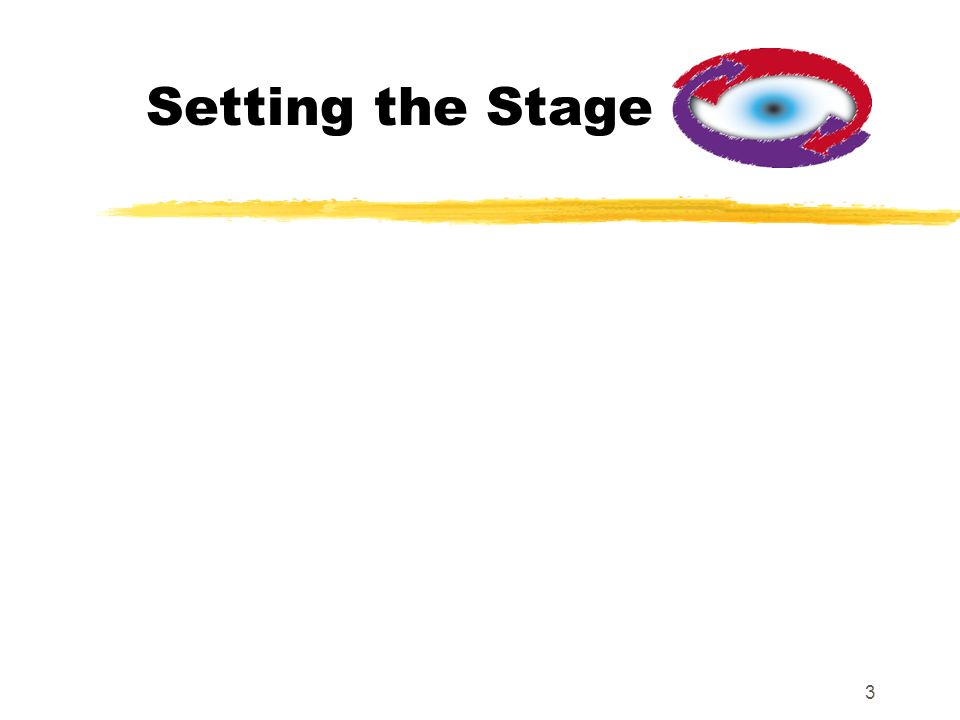 3 Setting the Stage