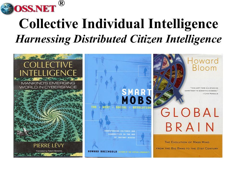 ® Collective Individual Intelligence Harnessing Distributed Citizen Intelligence