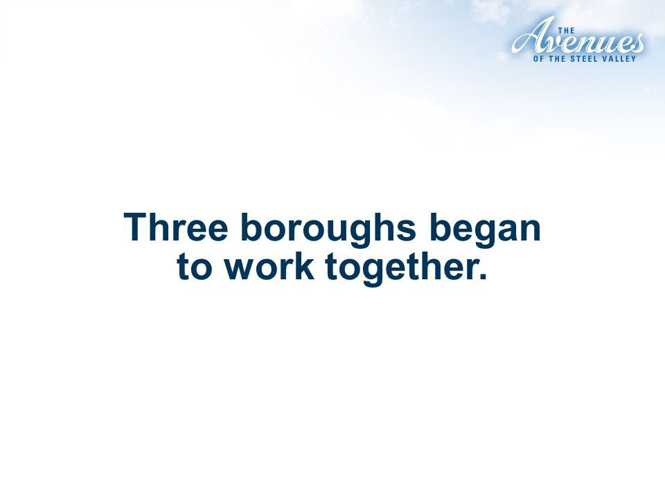 Three boroughs began to work together.