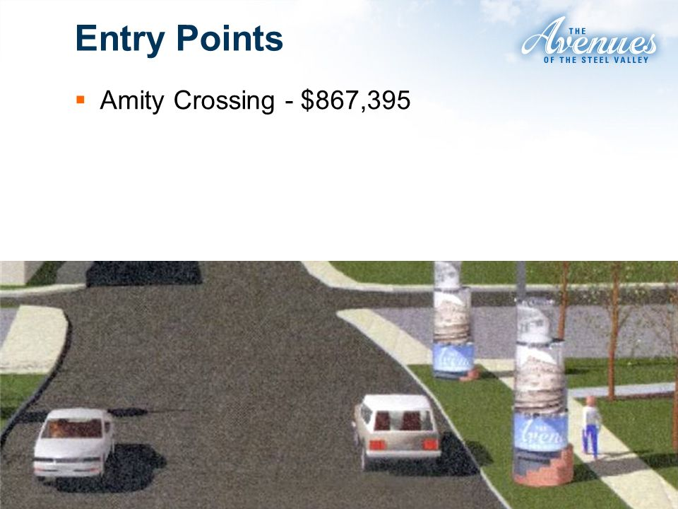 Entry Points Amity Crossing - $867,395