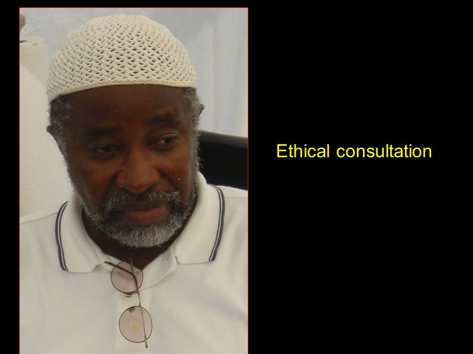 Ethical consultation