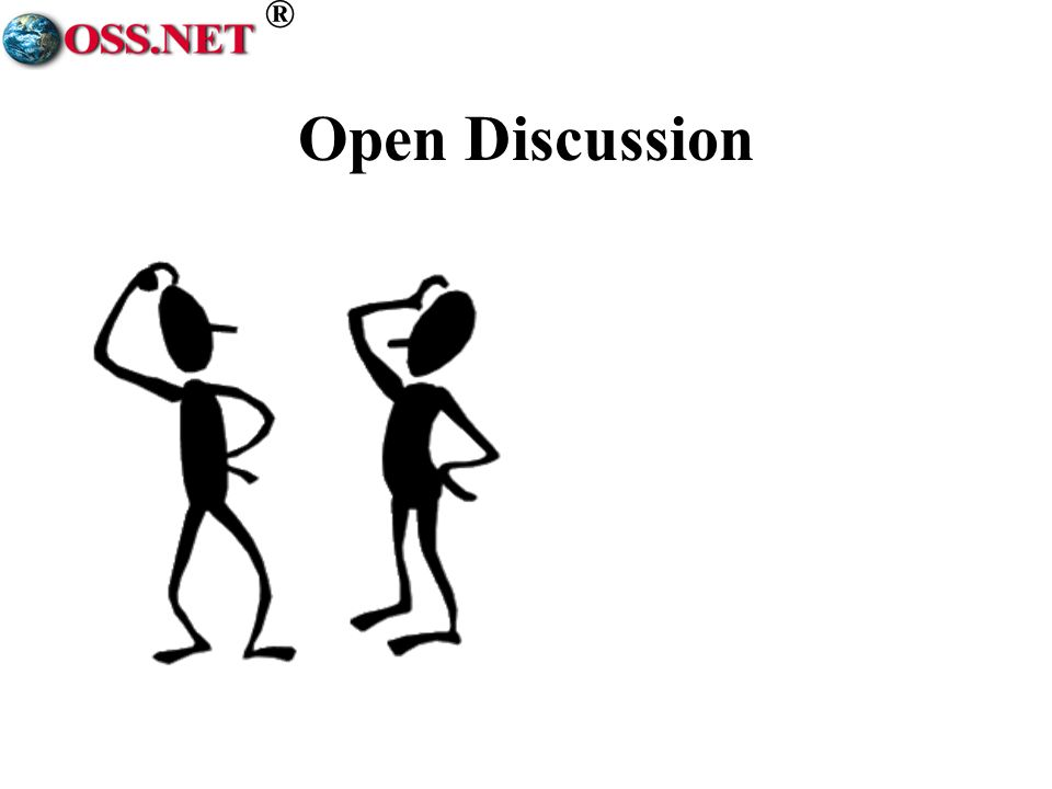 ® Open Discussion