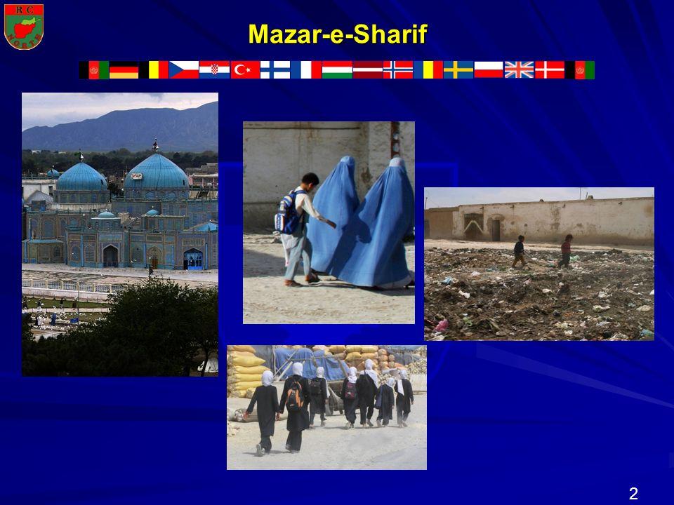2 N R T H R C O Mazar-e-Sharif