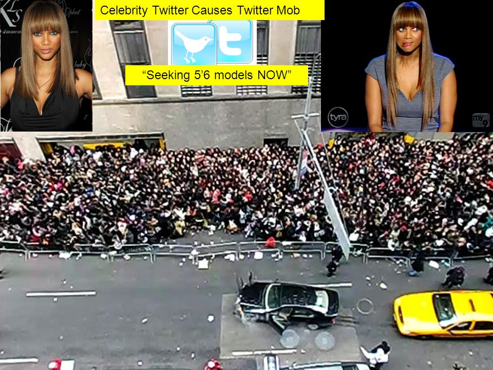 Seeking 56 models NOW Celebrity Twitter Causes Twitter Mob