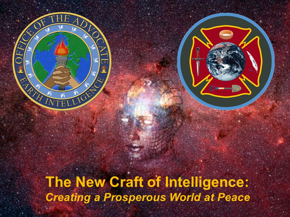 The New Craft of Intelligence: Creating a Prosperous World at Peace