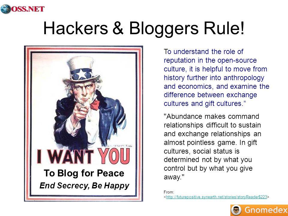 Hackers & Bloggers Rule.