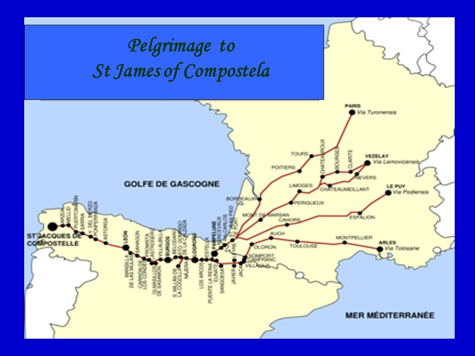 St James of Compostela Compostela owes its fame to St James, the Apostle supposed to have evangelised Spain. Humble and powerful came there to express