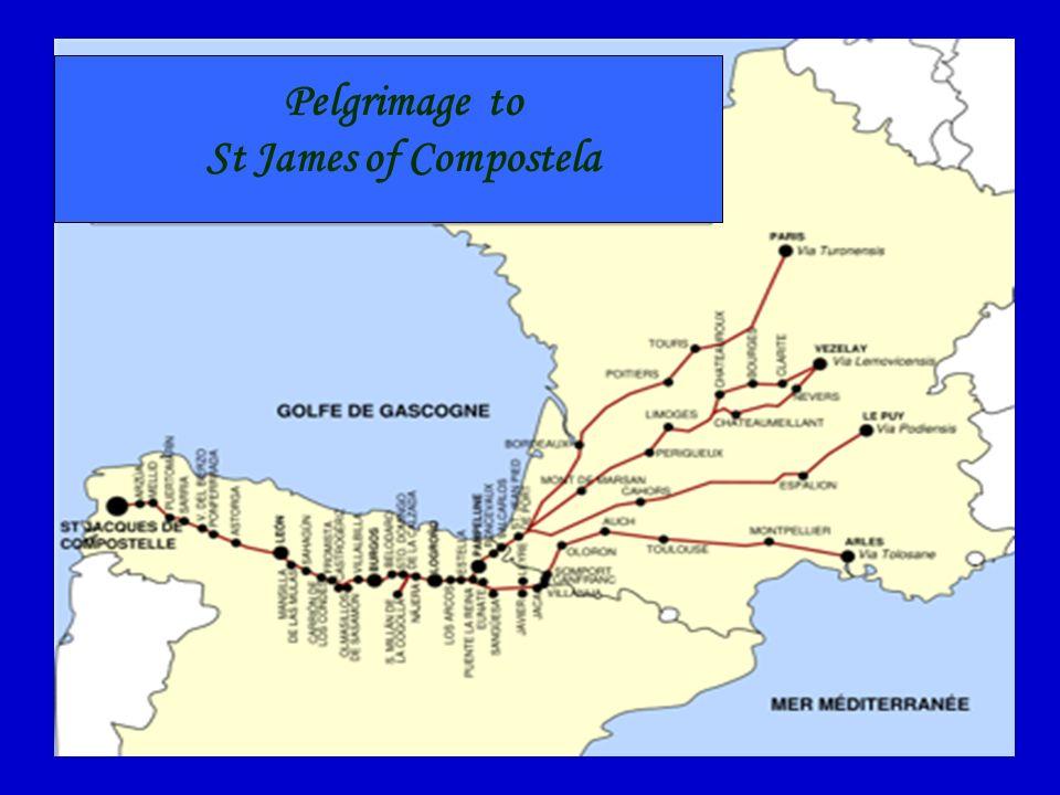 Pelgrimage to St James of Compostela