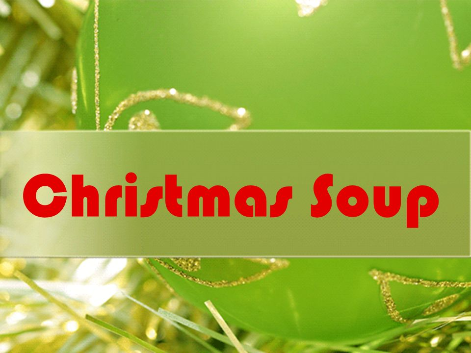 Christmas Soup This is a soup that we, in Portugal, usually eat all year, but in christmas this soup becomes special, with more ingredients to give it a special taste of christmas.