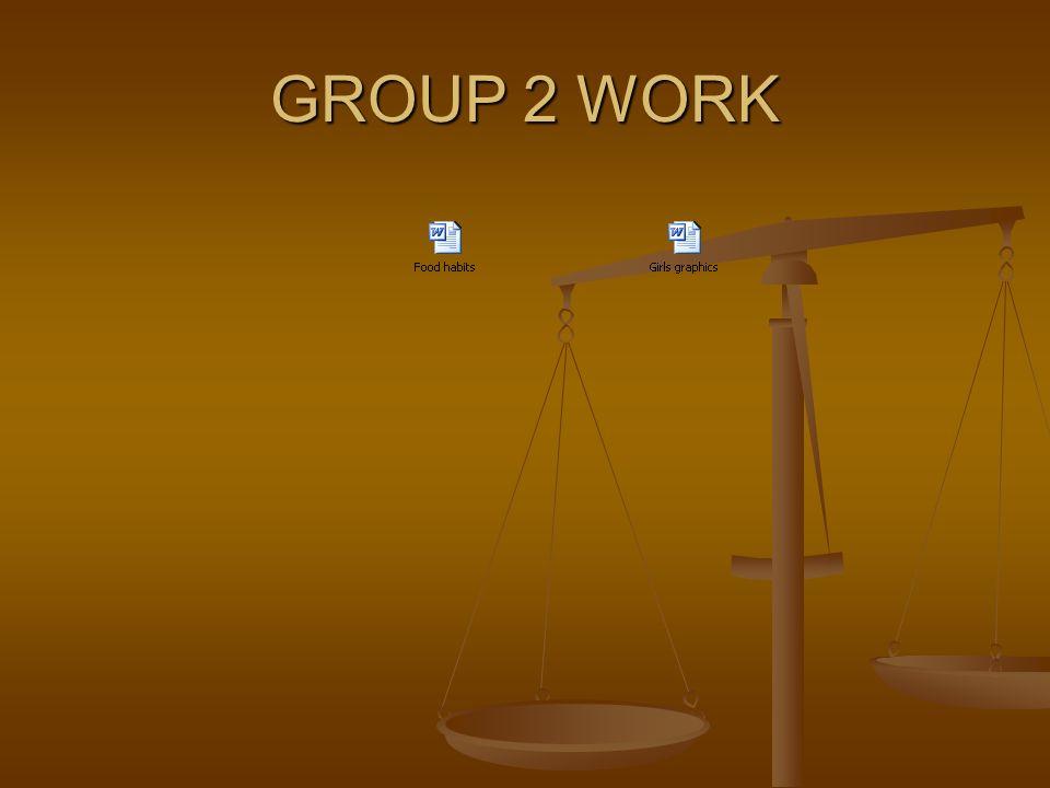 GROUP 3 WORK