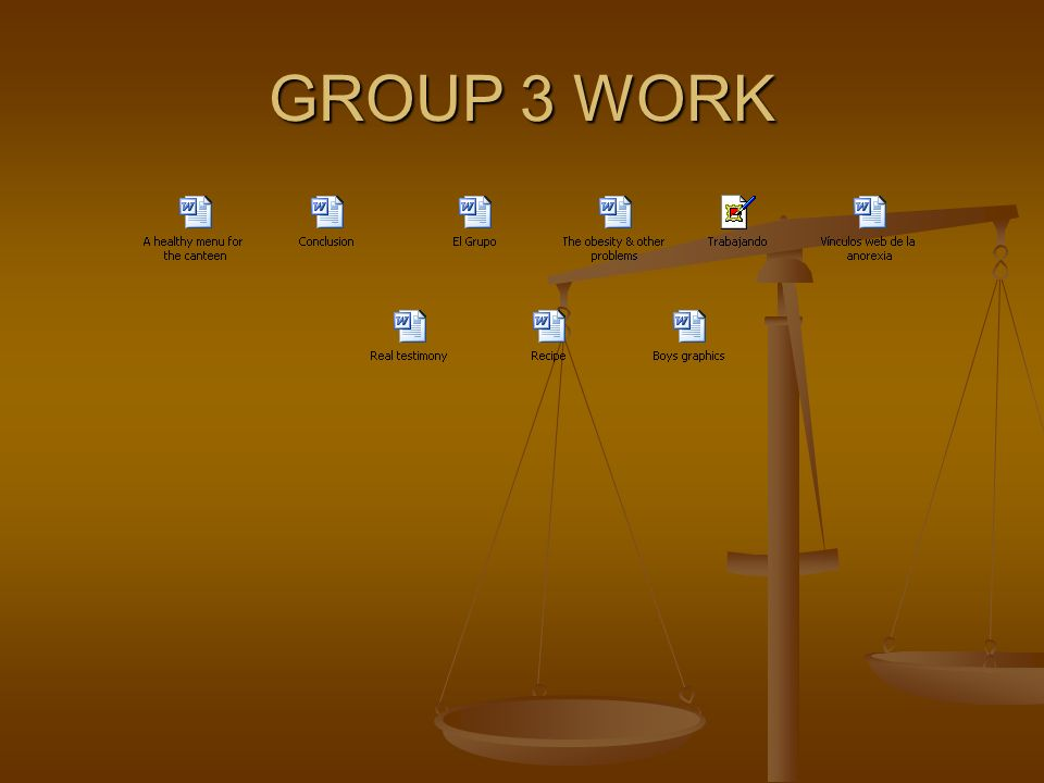 GROUP 4 WORK