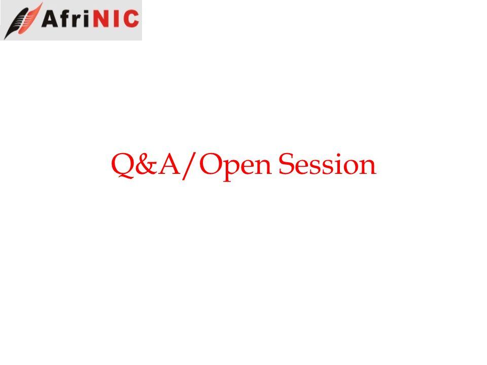 Q&A/Open Session
