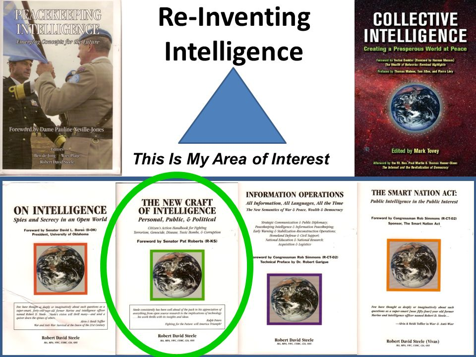 Re-Inventing Intelligence This Is My Area of Interest