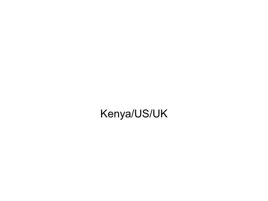 Kenya/US/UK