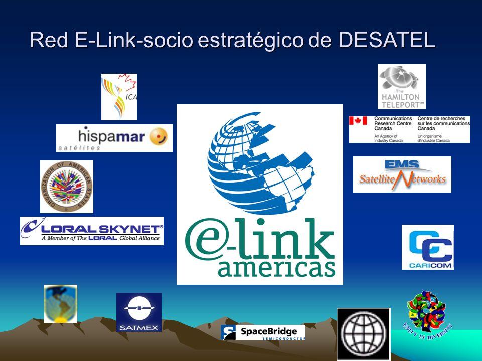 Red E-Link-socio estratégico de DESATEL