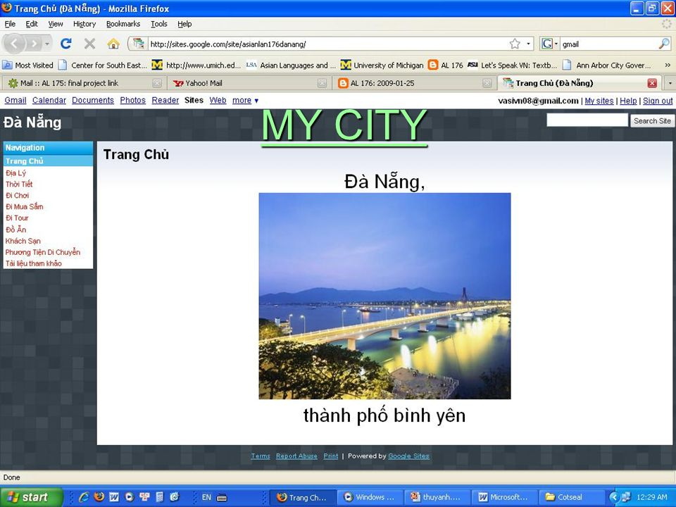 MY CITY MY CITY
