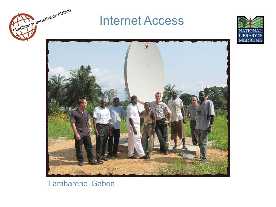 Internet Access Lambarene, Gabon