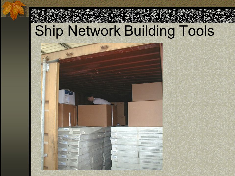 Ship Network Building Tools