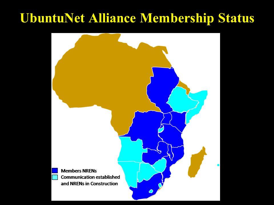 UbuntuNet Alliance Membership Status