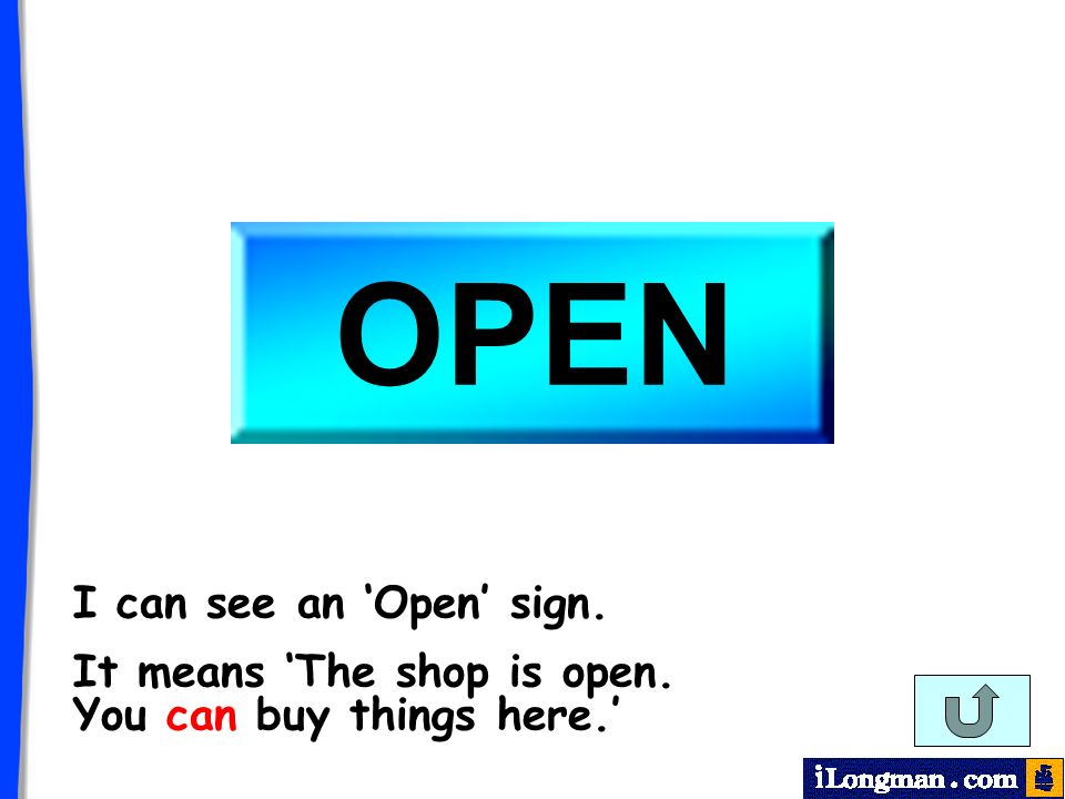 I can see a Closed sign. It means The shop is closed. You cant buy things here.