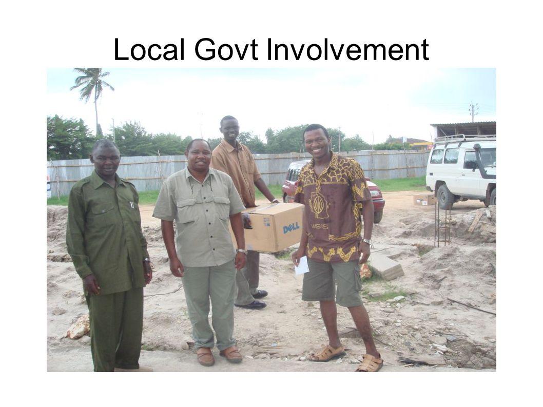 Local Govt Involvement
