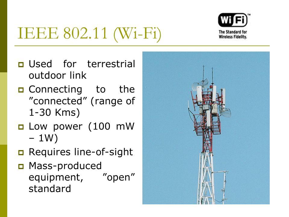 Wi-Fi (IEEE 802.11)