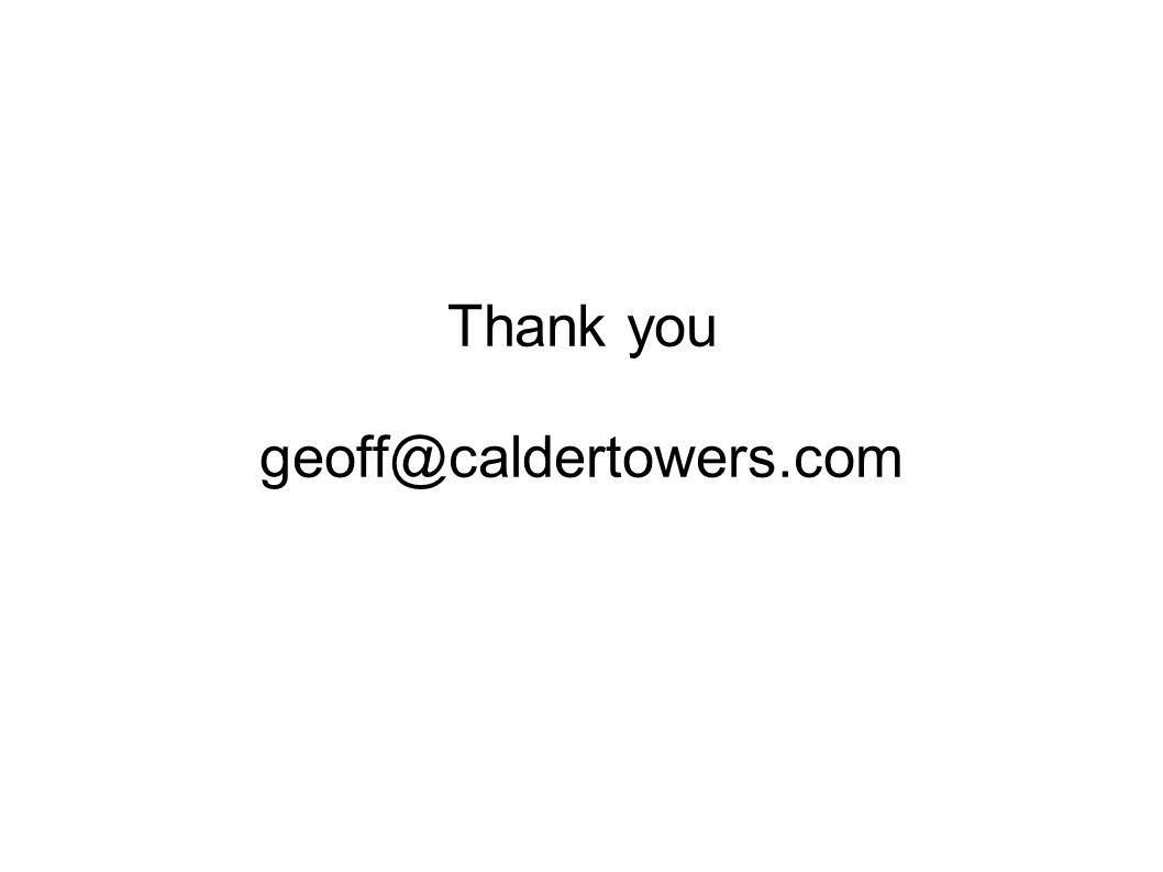 Thank you geoff@caldertowers.com