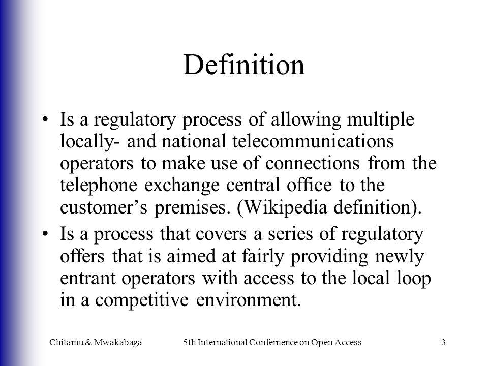 LLU Technical Overview Chitamu & Mwakabaga5th International Confernence on Open Access4