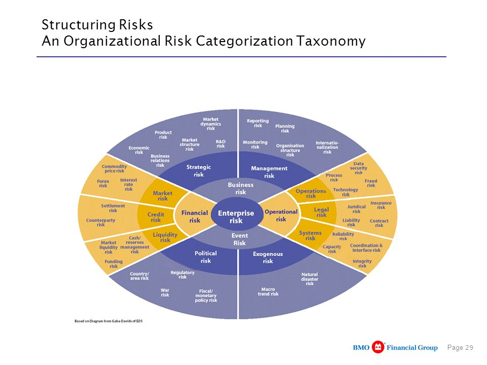 Page 29 Structuring Risks An Organizational Risk Categorization Taxonomy