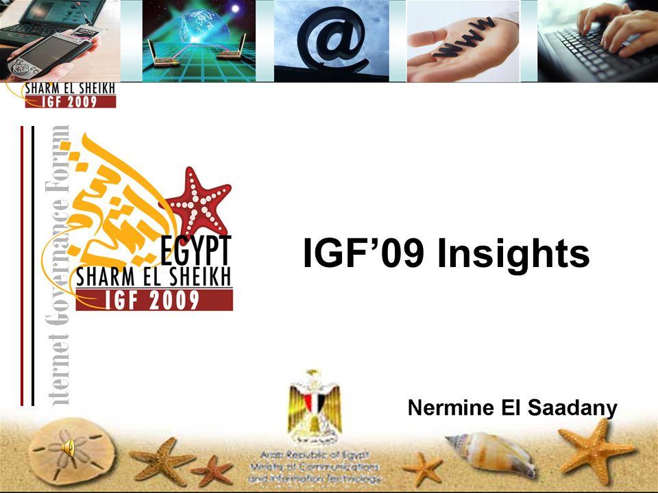 IGF09 Insights