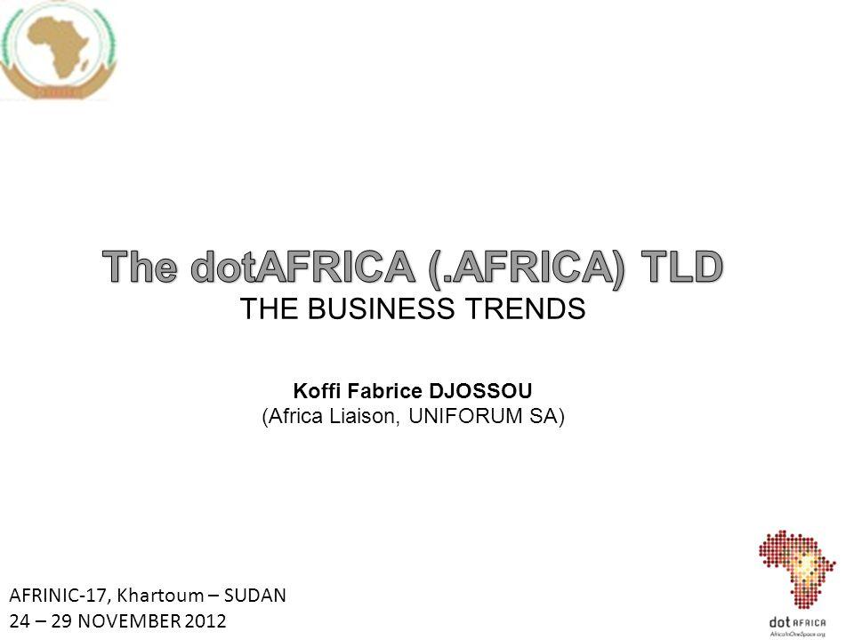 AFRINIC-17, Khartoum – SUDAN 24 – 29 NOVEMBER 2012