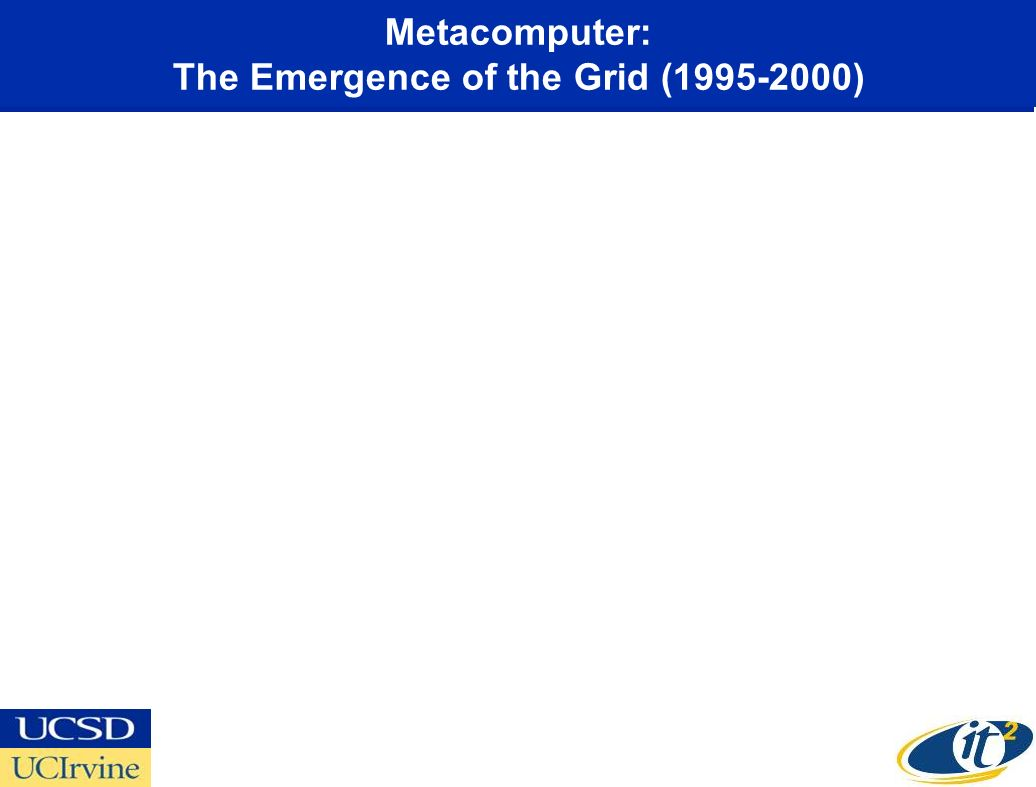 Metacomputer: The Emergence of the Grid (1995-2000)