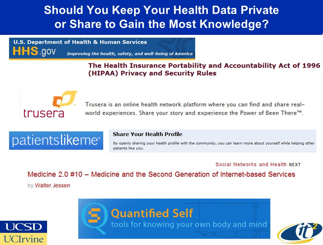 Should You Keep Your Health Data Private or Share to Gain the Most Knowledge?