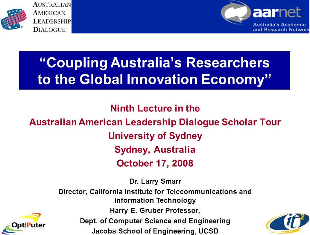 Abstract An innovation economy begins with the pull toward the future provided by a robust public research sector.