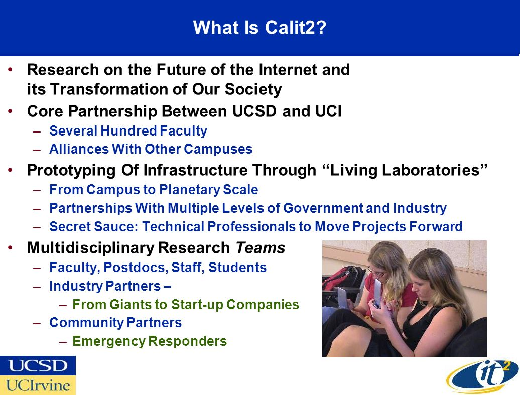 What Is Calit2.