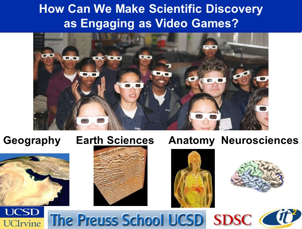 GeographyEarth SciencesNeurosciencesAnatomy How Can We Make Scientific Discovery as Engaging as Video Games