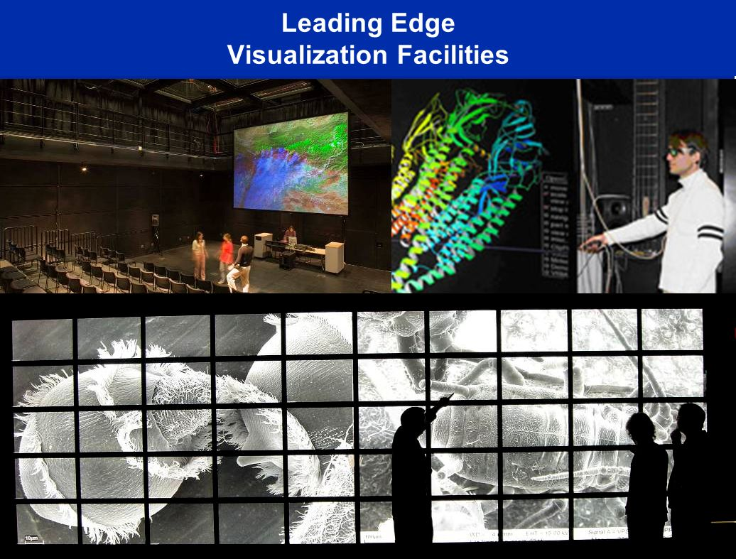 Leading Edge Visualization Facilities