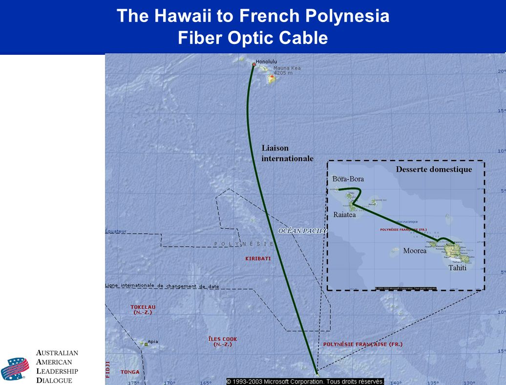 The Hawaii to French Polynesia Fiber Optic Cable