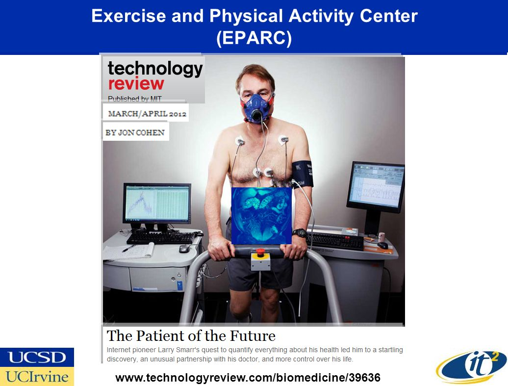 Exercise and Physical Activity Center (EPARC) www.technologyreview.com/biomedicine/39636