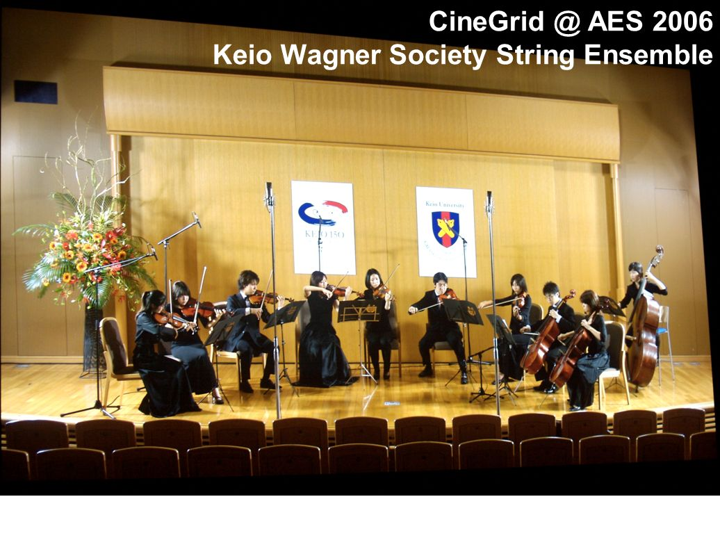 AES 2006 Keio Wagner Society String Ensemble