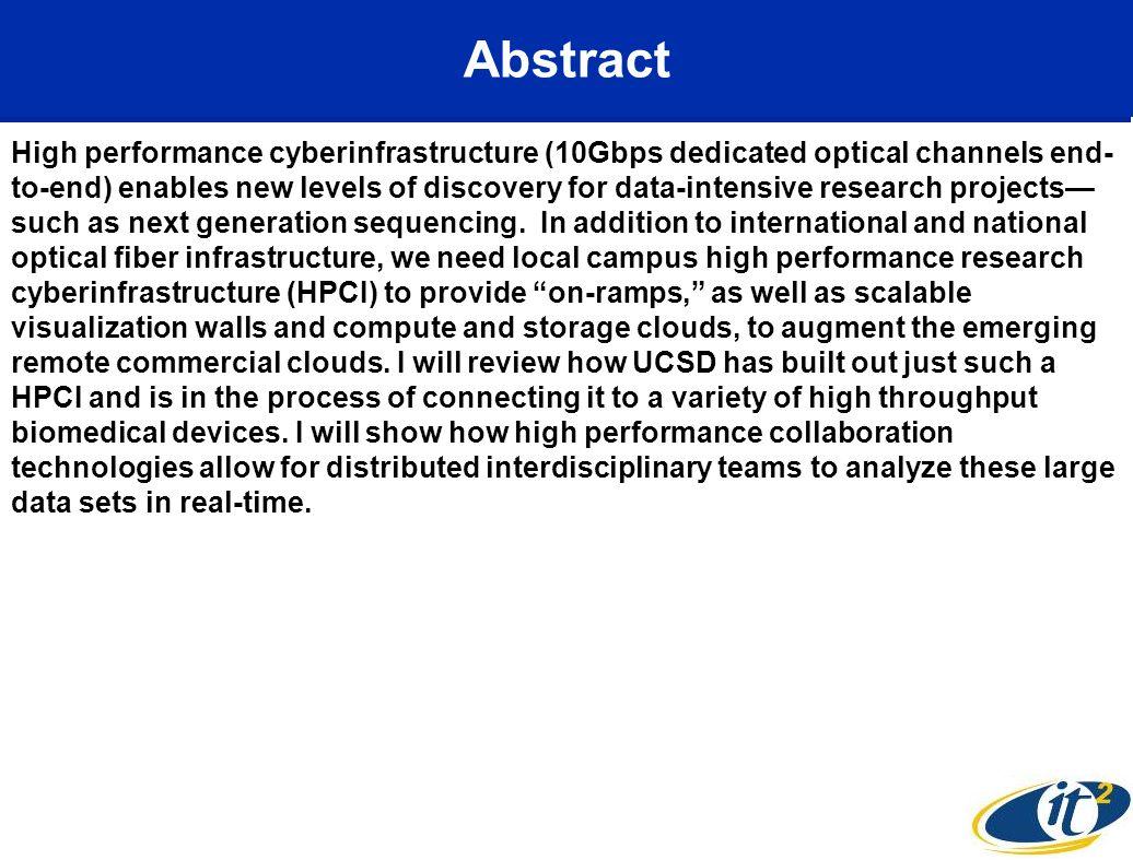Creating CAMERA 2.0 - Advanced Cyberinfrastructure Service Oriented Architecture Source: CAMERA CTO Mark Ellisman