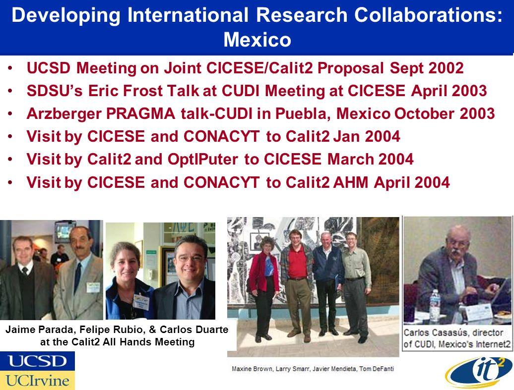 CUDI-CENIC Fiber Dedication at Border Governors Conference, July 14, 2005 Osaka Prof.