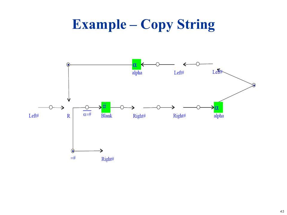43 Example – Copy String