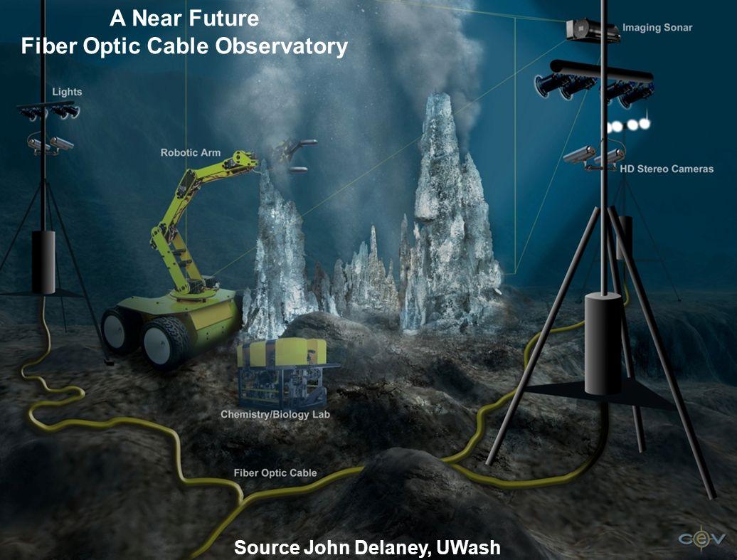 A Near Future Fiber Optic Cable Observatory Source John Delaney, UWash