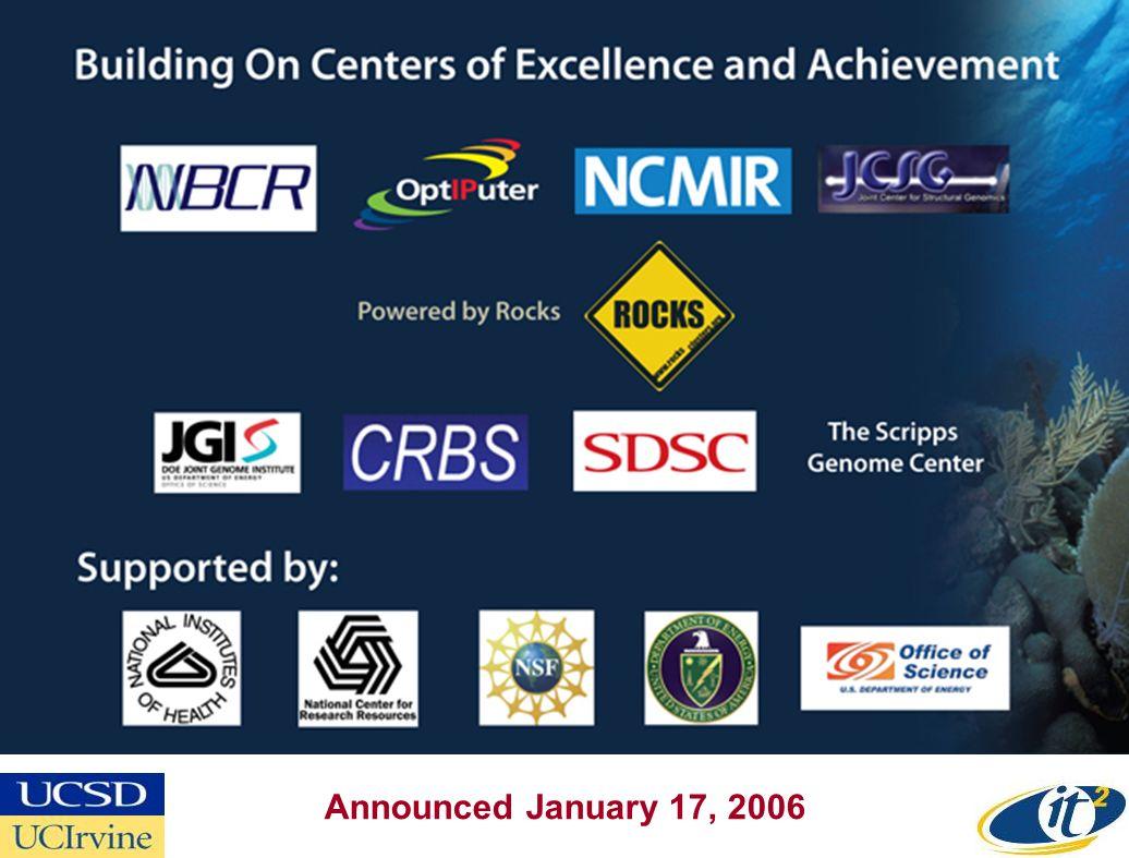 Announced January 17, 2006