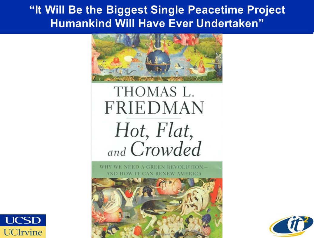 It Will Be the Biggest Single Peacetime Project Humankind Will Have Ever Undertaken